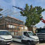 Regen afscherming voor dakwerken